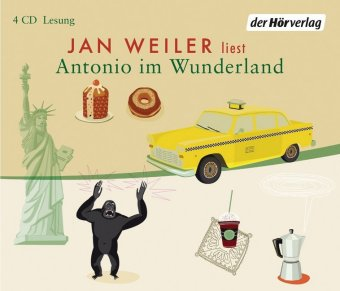 Antonio im Wunderland, 4 Audio-CDs