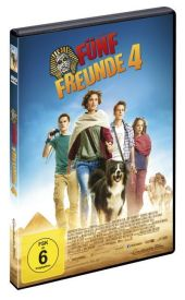 Fünf Freunde 4, 1 DVD