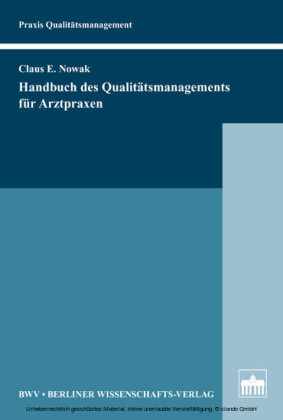 Handbuch des Qualitätsmanagements für Arztpraxen