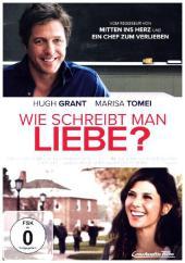 Wie schreibt man Liebe?, 1 DVD Cover