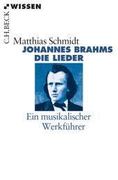 Johannes Brahms. Die Lieder Cover