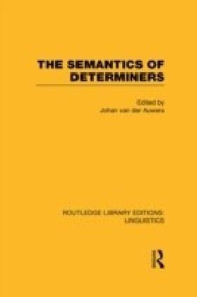 Semantics of Determiners