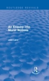 Enquiry into Moral Notions