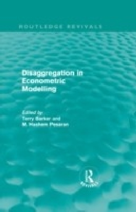 Disaggregation in Econometric Modelling (Routledge Revivals)