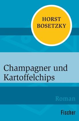 Champagner und Kartoffelchips