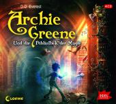 Archie Greene und die Bibliothek der Magie, 4 Audio-CDs