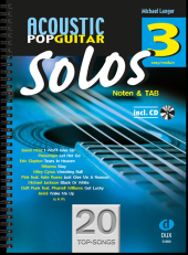 Solos, für Gitarre, m. Audio-CD Cover