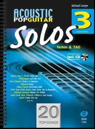 Solos, für Gitarre, m. Audio-CD