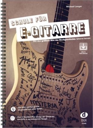 Schule für E-Gitarre, m. Audio-CD