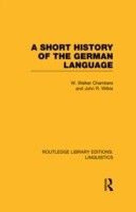Short History of the German Language