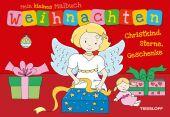 Mein kleines Malbuch Weihnachten. Christkind, Sterne, Geschenke Cover