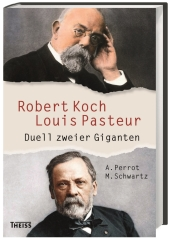 Robert Koch - Louis Pasteur Cover