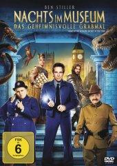 Nachts im Museum 3 - Das geheimnisvolle Grabmal, 1 DVD Cover