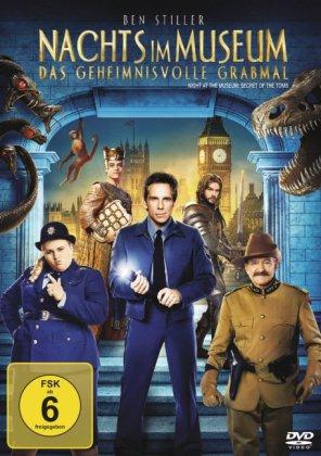 Nachts im Museum 3 - Das geheimnisvolle Grabmal, 1 DVD