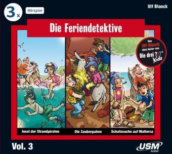 Die Feriendetektive 3-er Hörbox, 3 Audio-CDs