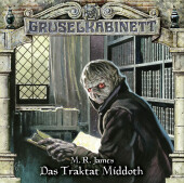 Gruselkabinett - Das Traktat Middoth, Audio-CD Cover