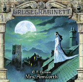 Gruselkabinett - Mrs. Amworth, Audio-CD Cover