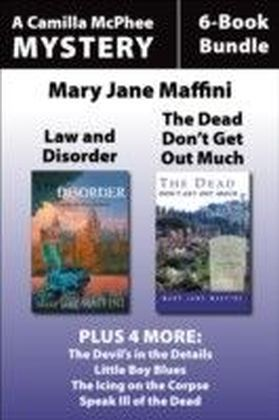 Camilla MacPhee Mysteries 6-Book Bundle
