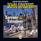 John Sinclair - Xorrons Totenheer, Audio-CD Cover