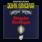John Sinclair - Shimadas Mordaugen, Audio-CD Cover