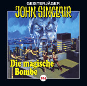 John Sinclair - Die magische Bombe, Audio-CD Cover