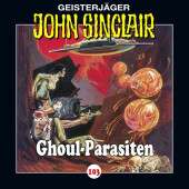 John Sinclair - Ghoul-Parasiten, Audio-CD Cover