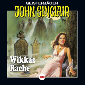 John Sinclair - Wikkas Rache, Audio-CD Cover