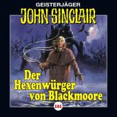 John Sinclair - Der Hexenwürger von Blackmoore, 1 Audio-CD Cover