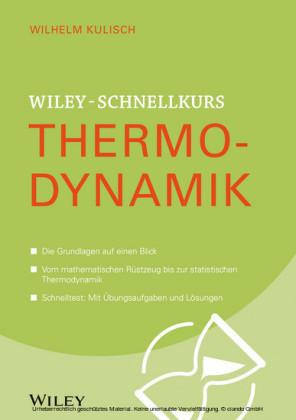Wiley-Schnelllkurs Thermodynamik