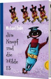 Jim Knopf und die Wilde 13, Kolorierte Neuausgabe Cover