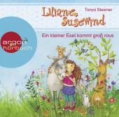 Liliane Susewind - Ein kleiner Esel kommt groß raus, 1 Audio-CD Cover