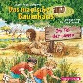 Das magische Baumhaus - Im Tal der Löwen, 1 Audio-CD Cover