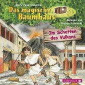 Das magische Baumhaus - Im Schatten des Vulkans, 1 Audio-CD Cover