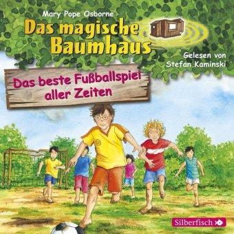 Das magische Baumhaus - Das beste Fußballspiel aller Zeiten, 1 Audio-CD
