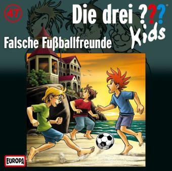 Die drei ???-Kids - Falsche Fußball-Freunde, Audio-CD