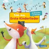 Sing mal - Erste Kinderlieder, m. Soundeffekten Cover