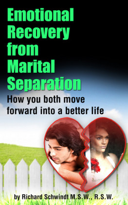 Emotional Recovery from Marital Separation
