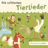 Die schönsten Tierlieder, Audio-CD