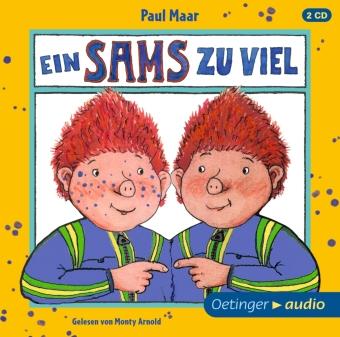 Das Sams 8. Ein Sams zu viel, 2 Audio-CD