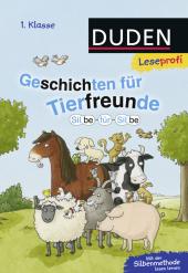 Geschichten für Tierfreunde 1. Klasse Cover