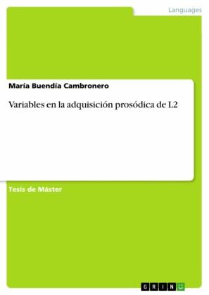 Variables en la adquisición prosódica de L2