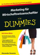 Marketing für Wirtschaftswissenschaftler für Dummies Cover