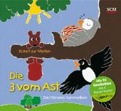 Die Drei vom Ast - Die Hörspiel-Sammelbox, 4 MP3-CDs Cover