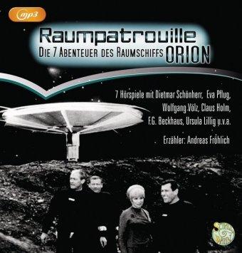 Raumpatrouille - Die 7 Abenteuer des Raumschiffs Orion, 1 MP3-CD