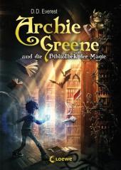 Archie Greene und die Bibliothek der Magie Cover