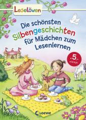 Die schönsten Silbengeschichten für Mädchen zum Lesenlernen Cover