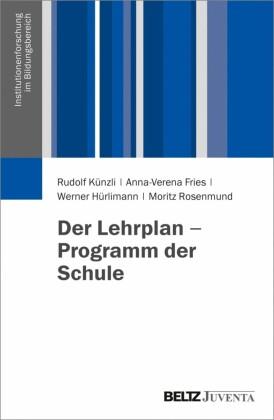 Der Lehrplan - Programm der Schule