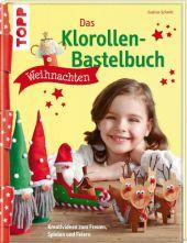 Das Klorollen-Bastelbuch Weihnachten Cover