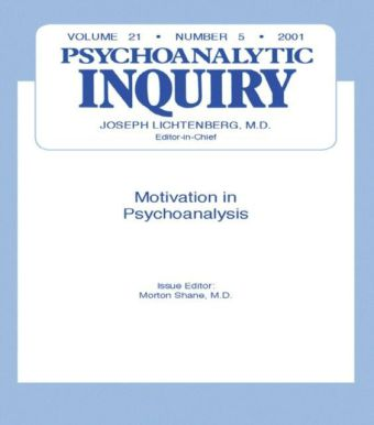 Motivation and Psychoanalysis