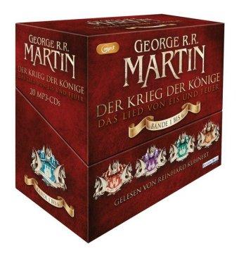 Der Krieg der Könige, 20 MP3-CDs